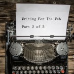 Summer Digital Marketing Workout – Writing for the Web 2 of 2